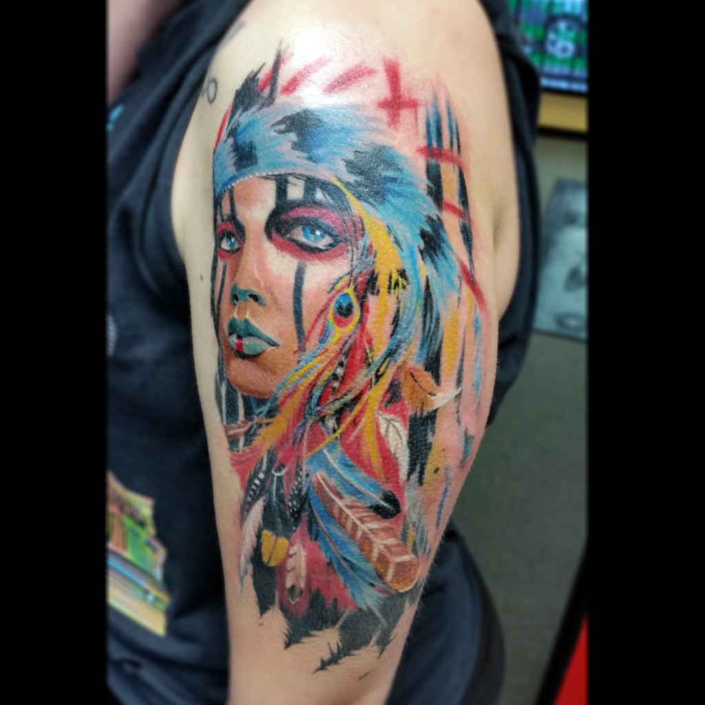 MARC TICE Owner and Tattoo Artist   13thhourtattoos.com
